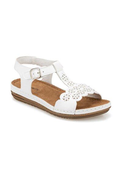 91.158550.Z Beyaz Kadın Sandalet 100374779