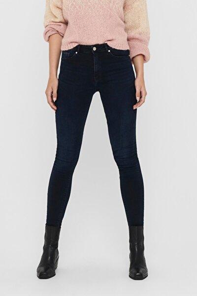 Kadın Mavi Onlpaola Yüksek Bel Jeans
