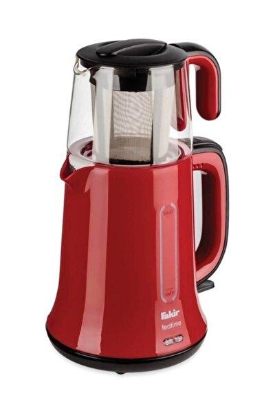 Teatime Kırmızı Siyah Çay Yapma Makinesi