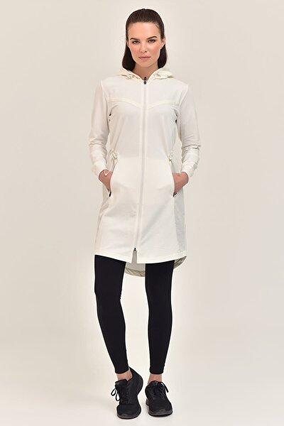 Bej Kadın Uzun Ceket GS-1522