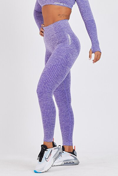 Dikişsiz Spor Tayt | Purble | Seamles Leggings | Activated Serisi