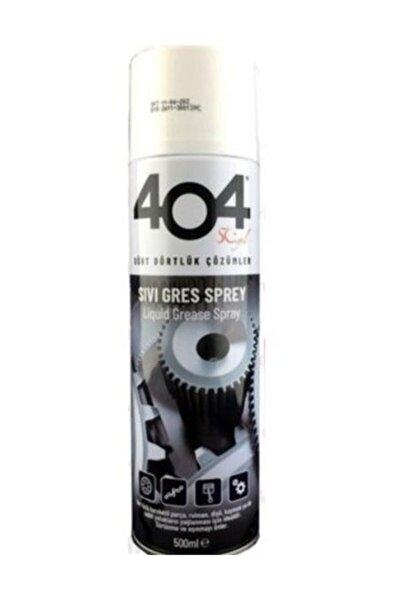 404 Sıvı Gres Yağı Sprey 500 ml Zincir Yağlayıcı Oto Bisiklet Motosiklet 2 Adet
