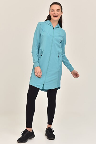 Mavi Kadın Uzun Ceket GS-1522