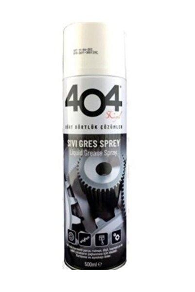 404 Sıvı Gres Yağı Sprey 500 ml Zincir Yağlayıcı Oto Bisiklet Motosiklet