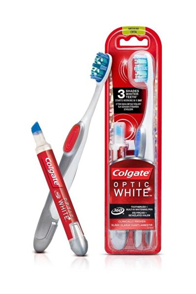 360 Optik Beyaz Diş Fırçası ve Beyazlatıcı Diş Kalemi
