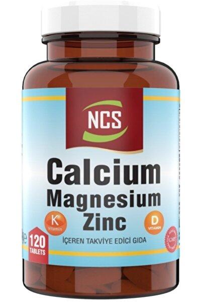 Kalsiyum Magnezyum Çinko 120 Tablet Vitamin D & K