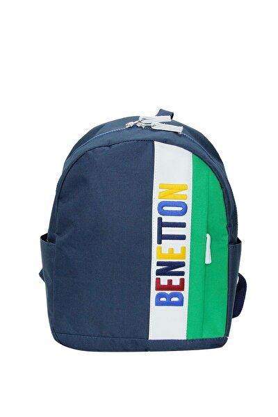 Unisex Benetton Iki Bölmeli Anaokul Çantası 70070