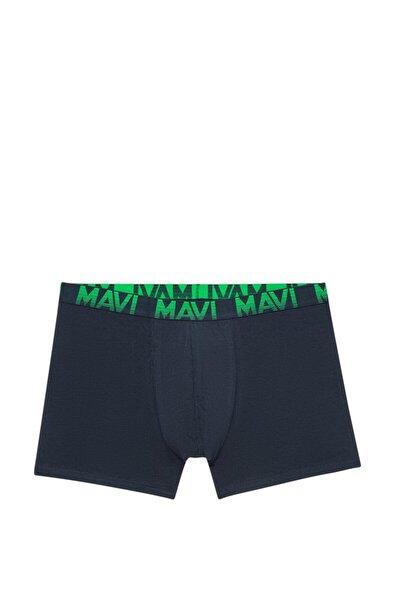 Erkek Yeşil Basic Boxer