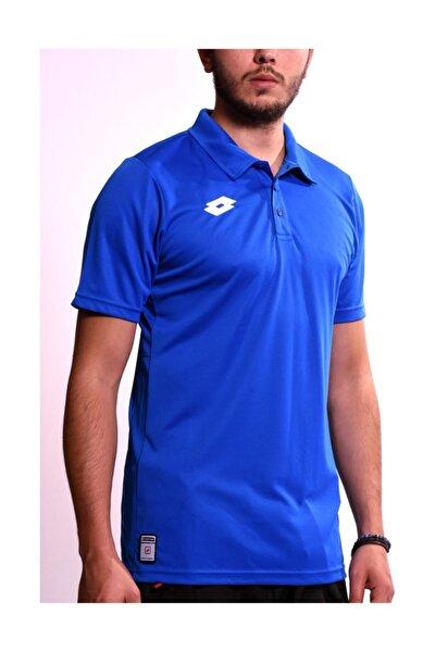 Erkek Mavi Polo Yaka T-shirt Pl - R4320