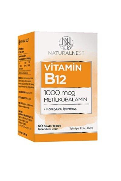 Naturalnest Vitamin B12 1000 Mcg Metilkobalamin 60 Dilaltı Tablet
