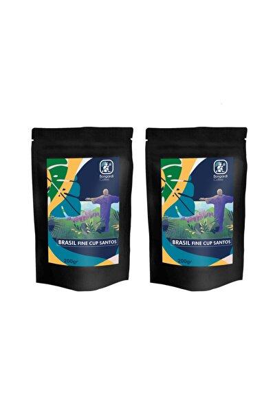 2x200 gr Brezilyan Santos Yöresel Filtre Kahve Makinesi Uyumlu