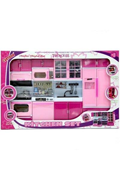 Oyuncak Mutfak Seti 4 Lü Buzdolabı Fırın Lavabobulaşık Makinesi Seti