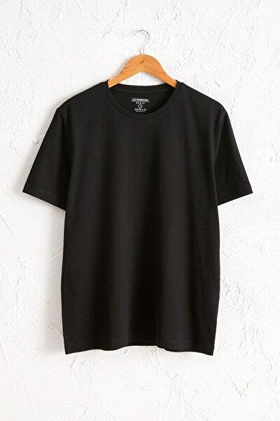 Erkek Yeni Siyah Tişört 0W6609Z8