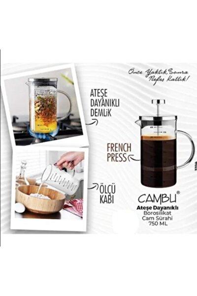 My Bottle Cambu 600 Ml Borosilikat French Press