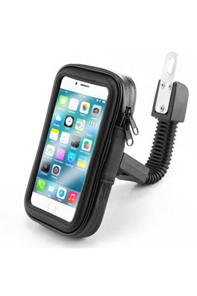 Telefon Tutacağı Motorsiklet 5-6.0 Inc Uyumlu Su Geçirmez Aynaya Montaj