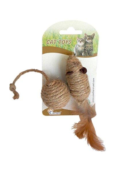 Kedi Oyuncağı Toplu Fare 7 cm