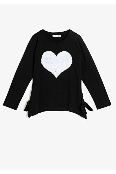Kız Çocuk Siyah T-Shirt