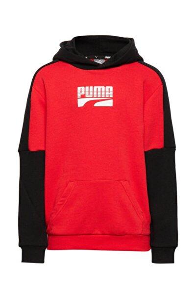 Erkek Kırmızı  Spor Sweatshirt