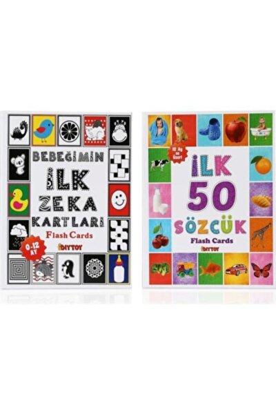 Flash Cards Ilk 50 Sözcük + Bebeğimin Ilk Zeka Kartları