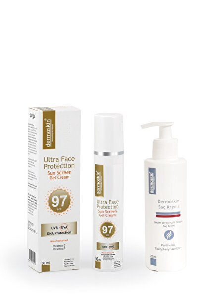 Ultra Face Protection Spf 97 + Saç Kremi Hediyeli Avantaj Paket 200 Ml