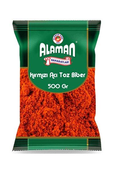Kırmızı Acı Toz Biber 500 Gr