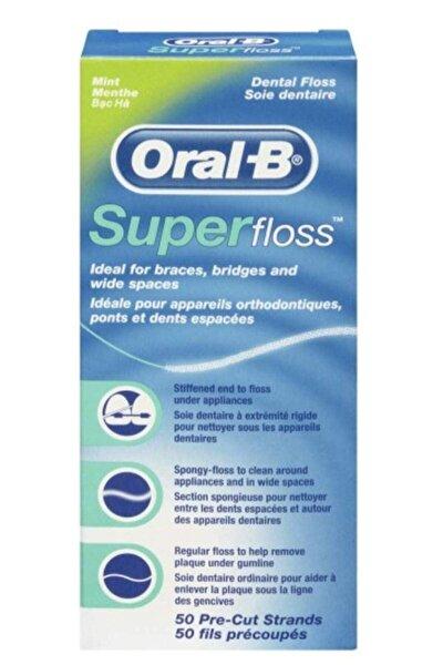 Süper Floss Diş İpi 50 Adet