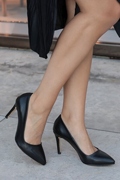 Basic Siyah Stiletto