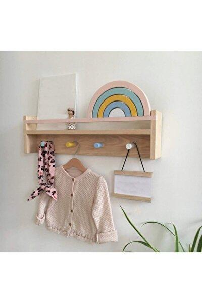Ahşap Bebek Çocuk Odası ,montessori Raf,ahşap Duvar Rafı