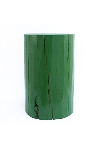 Yeşil Kütük Sehpa