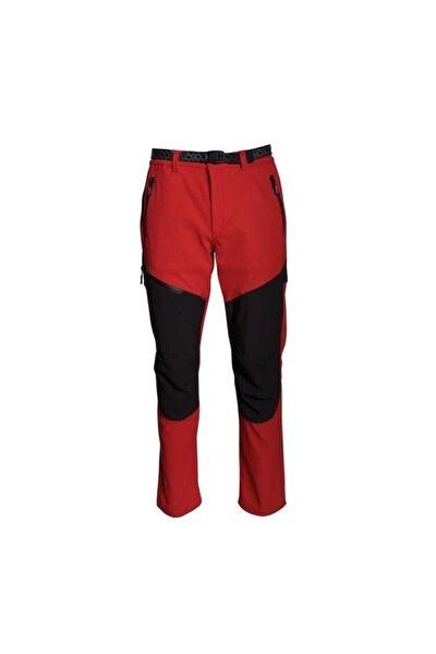 Kadın Siyah Kırmızı Lhotse Trekking Pantolon