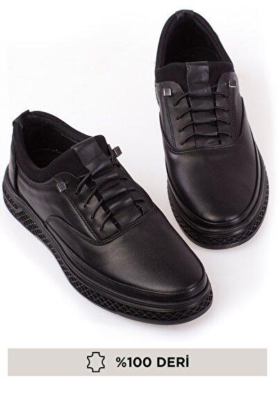 Hakiki Deri, Ortopedik, 4 Mevsim, Bagcıksız, Erkek Ayakkabı