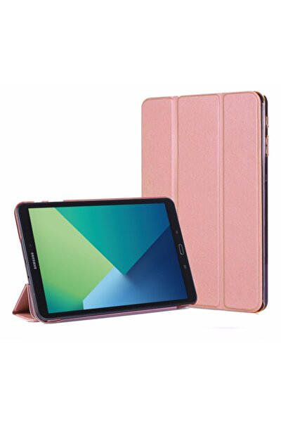 Galaxy Tab A 10.1'' P580 Rose Gold Microsonic Smart Case ve Arka Kılıf