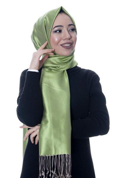 Kadın Yeşil Ipek Şal