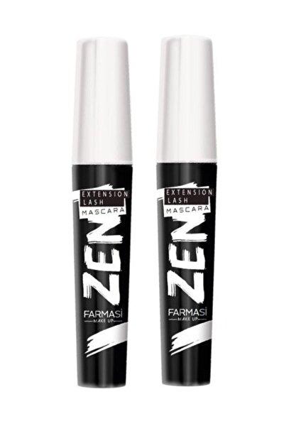 2 Adet Zen Maskara 8 ml