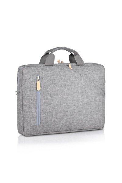 Laptop/evrak Omuz/El Çantası Nc-lt-020 Gri (13 Inç)