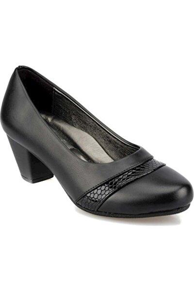 92.158111.Z Siyah Kadın Comfort Ayakkabı 100573802