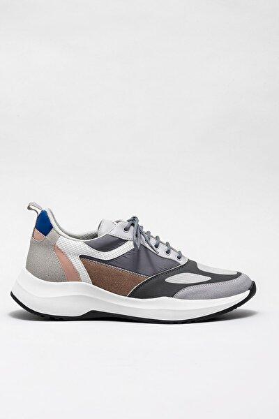 Erkek Haddon Grı Sneaker20KTA869-12