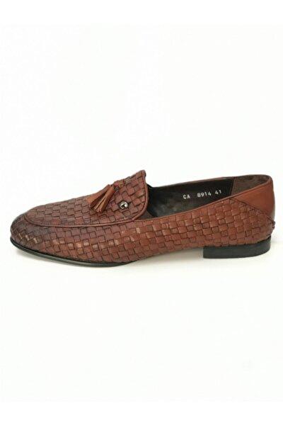 Neolit Taban Erkek Klasik Ayakkabı Kahverengi