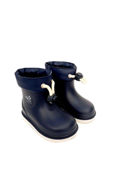 Çocuk Lacivert Marino Navy  Yağmur Çizmesi