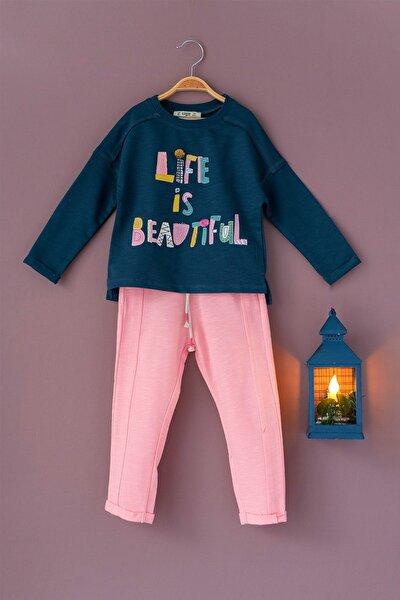 Life T-shirt ve Pantolon Takım