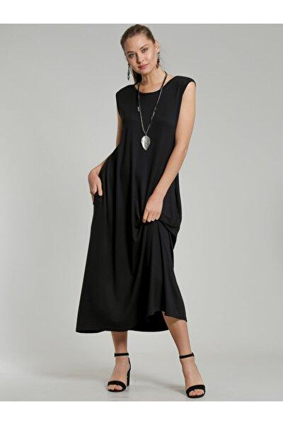 Kadın Gizli Cepli Uzun Elbise C10160000EL98007
