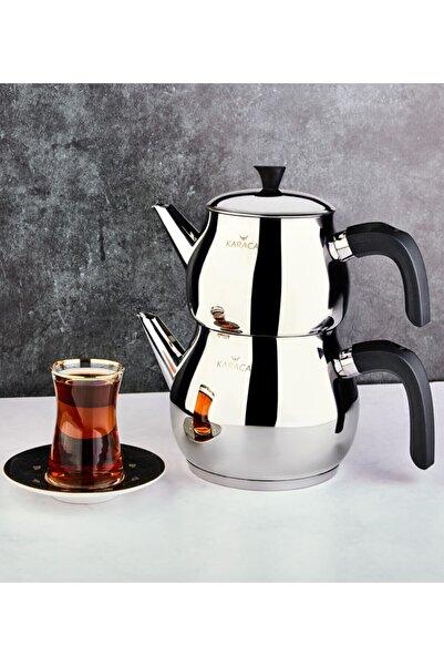 Kayra Black Çaydanlık Takımı