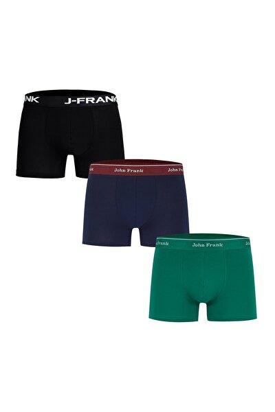 3 Pack Pamuklu Boxer ERKEK BOXER CTNJFBPK01