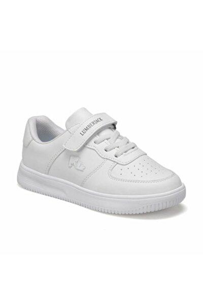 Unisex Çocuk Beyaz Finster Jr Renk Cırtlı Spor Ayakkabı
