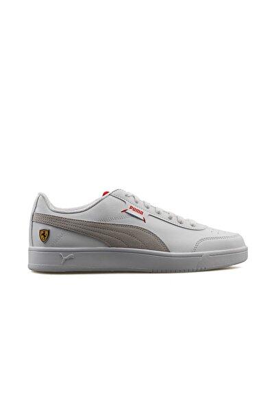 Erkek Günlük Ayakkabı Beyaz Ferrari Race Court Legend 30655202