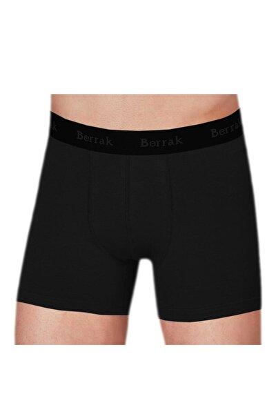 Erkek Siyah 6'lı Paket 4476 Modal  Boxer Short