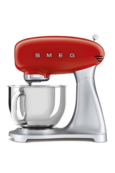 Smf02rdeu Retro Kırmızı 800 Watt 4.8 Litre Mutfak Şefi Hamur Mikseri