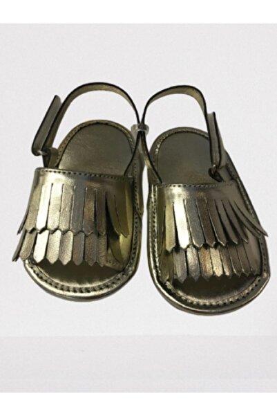 Pixy Love Suni Deri Gold Bebek Ayakkabısı