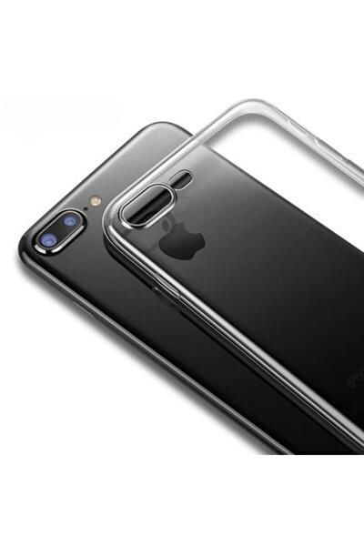 Apple Iphone 7 Plus Kılıf Şeffaf Süper Silikon Kapak Darbe Emici Özellikli