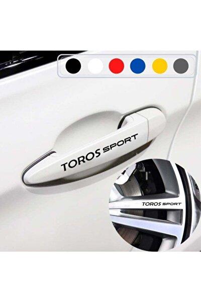 Renault Toros Için Kapı Kolu Ve Jant Sticker (10 Adet)